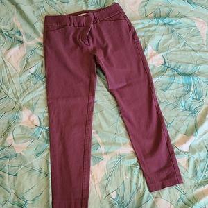 Crop dress pant